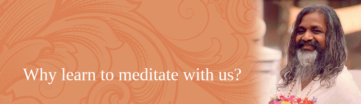 Why learn to meditate with us?